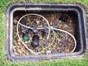 Mágnesszelepek, szelepdoboz - 1024x768 pixel - 525403 byte Akác, rönk, támfal